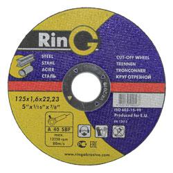 Круг отрезной по металлу (RING)