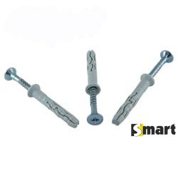 Нейлоновий дюбель з металевим ударним шурупом (SMX)