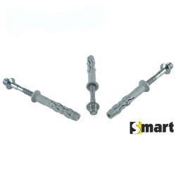 Нейлоновий дюбель з металевим ударним шурупом і метричною різьбою (SMX-M)